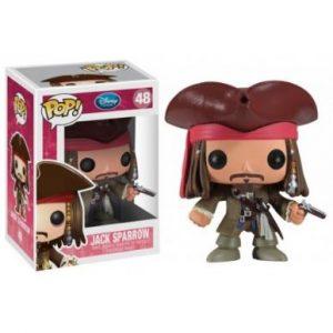 funkos de jack sparrow y piratas del caribe
